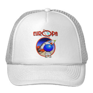 CAPTAIN RICKYS CHARTER FLIGHTS -EUROPA TRUCKER HAT
