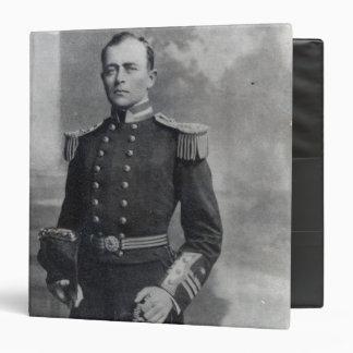 Captain Robert Falcon Scott 3 Ring Binder