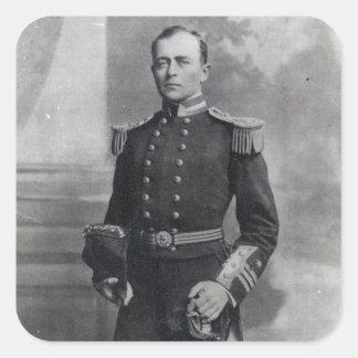 Captain Robert Falcon Scott Square Sticker