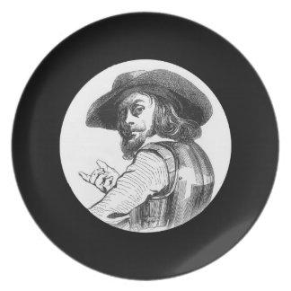 Captain Rolando Dinner Plate