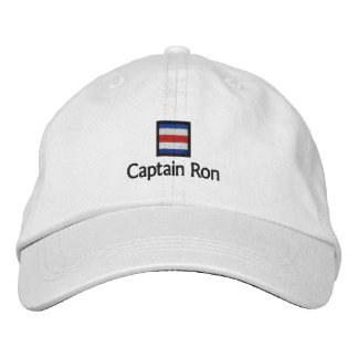 Captain Ron Embroidered Baseball Hat