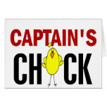 Captain's Chick Cards