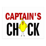 Captain's Chick Post Cards