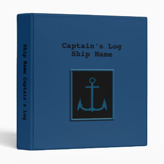 Captain s Log Book Binder