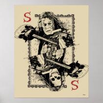 Captain Salazar - Butcher of the Sea Poster
