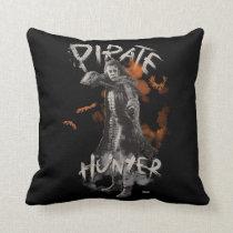 Captain Salazar - Pirate Hunter Throw Pillow