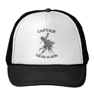 CAPTAIN SAVE A HOE TRUCKER HAT