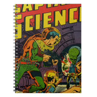 Captain Science Note Book
