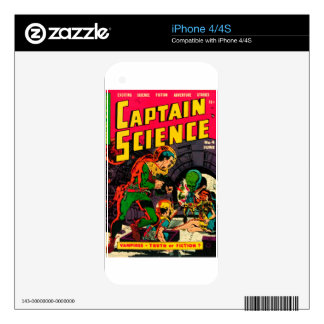 Captain Science -- Vampires: Truth or Fiction? iPhone 4S Skin