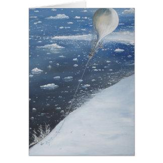 Captain Scott Antarctica's first Aeronaut. 4th Card