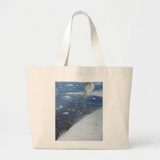 Captain Scott Antarctica's first Aeronaut. 4th Large Tote Bag
