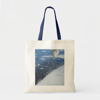Captain Scott Antarctica's first Aeronaut. 4th Tote Bag