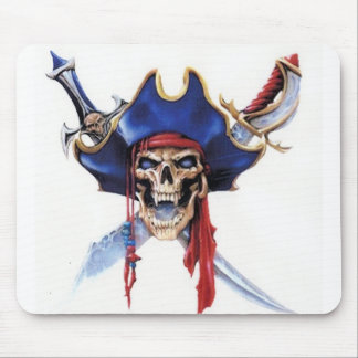 captain scull mouse pad