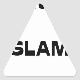 Captain SLAM - Word games - François City Triangle Sticker