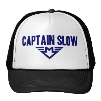 Captain Slow Trucker Hat