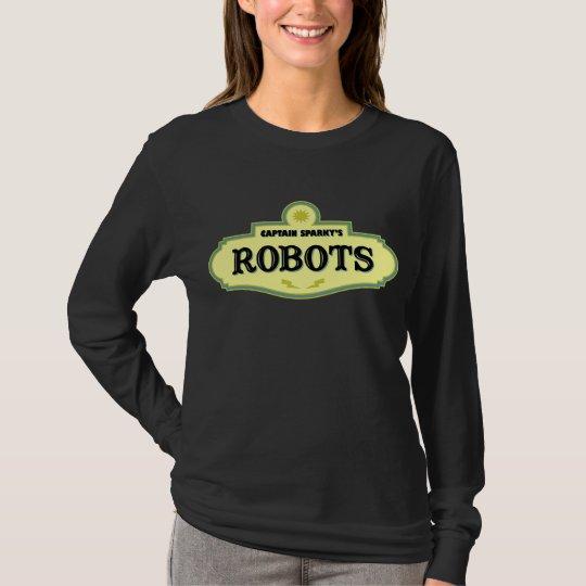 Captain Sparky's Robots T-Shirt