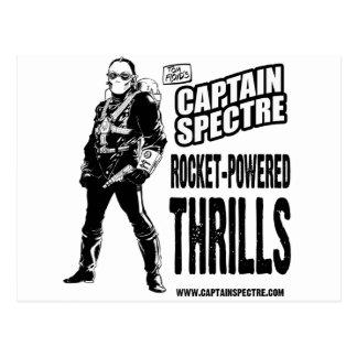 Captain Spectre and the Lightning Legion Postcard
