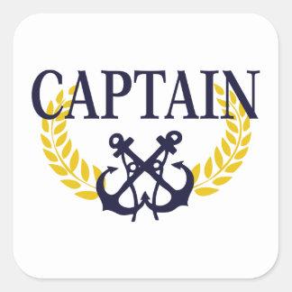 Captain Square Sticker