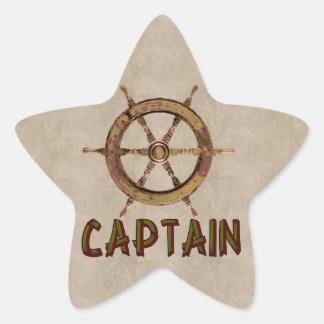 Captain Star Sticker