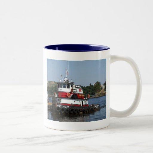 Captain Steve Two-Tone Coffee Mug