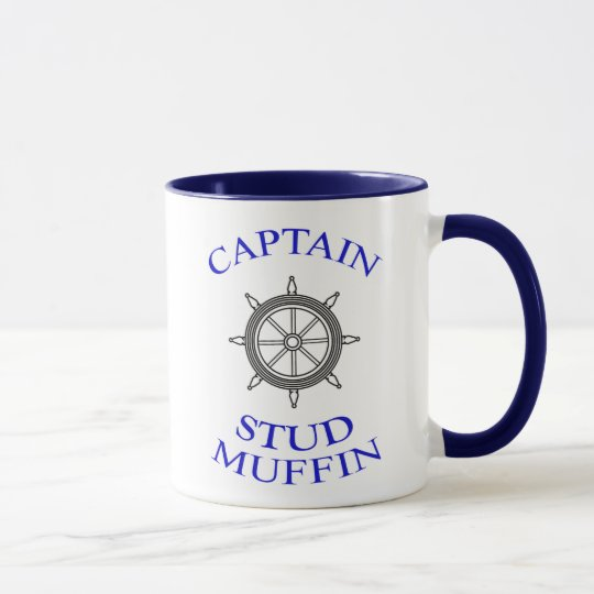 CAPTAIN Stud Muffin mug