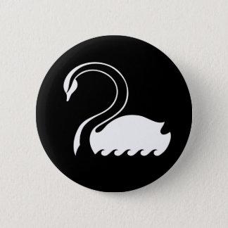 Captain Swan Flag Button
