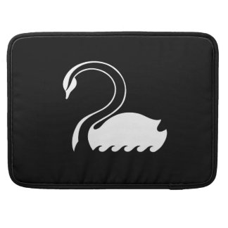 Captain Swan Flag Macbook Pro Sleeve