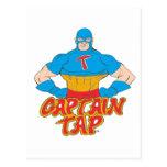 Captain Tap! Post Card