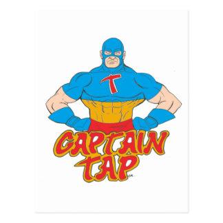 Captain Tap! Postcard