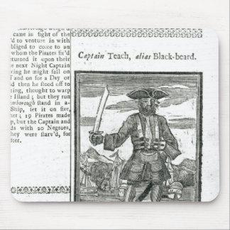 Captain Teach, Alias Black Beard Mouse Pad
