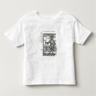 Captain Teach, Alias Black Beard Toddler T-shirt