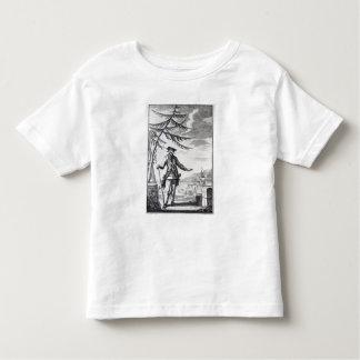 Captain Teach, commonly called Blackbeard Toddler T-shirt