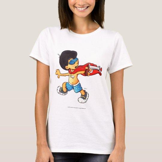 Captain Thunderbolt battles the Worm T-Shirt