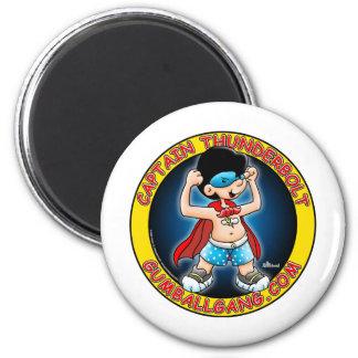 Captain Thunderbolt insignia 2 Inch Round Magnet