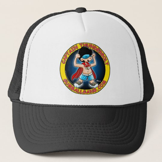 Captain Thunderbolt insignia Trucker Hat