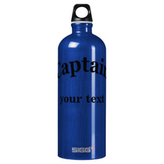 Captain to Personalize Aluminum Water Bottle