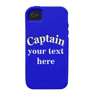 Captain to Personalize Case-Mate iPhone 4 Case