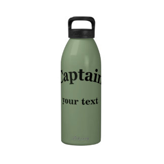 Captain to Personalize Drinking Bottle