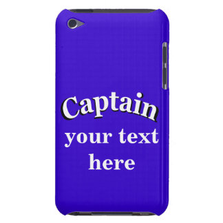 Captain to Personalize iPod Touch Cover