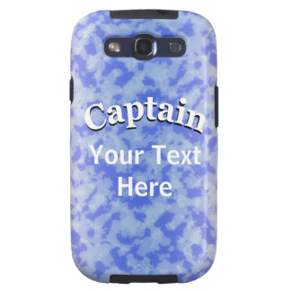 Captain to Personalize Samsung Galaxy SIII Case