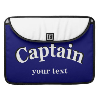 Captain to Personalize Sleeves For MacBooks