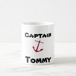 Captain, Tommy Coffee Mug