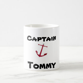 Captain, Tommy Coffee Mugs