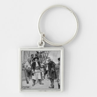 Captain Tongrelow Took the Biggest, illustration Keychain