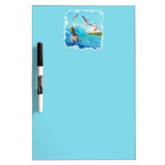 Captain Turtle Dry Erase Board