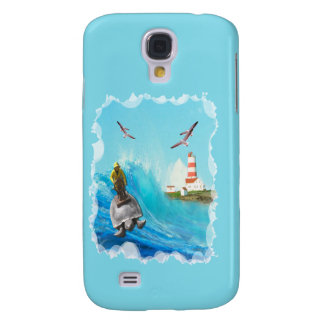 Captain Turtle  Samsung Galaxy S4 Cover