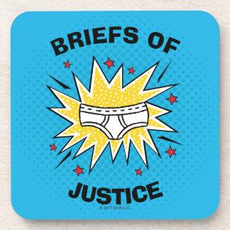 Captain Underpants   Briefs of Justice Coaster