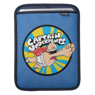 Captain Underpants | Flying Hero Badge Sleeve For iPads