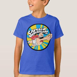 Captain Underpants   Flying Hero Badge T-Shirt