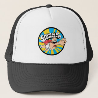 Captain Underpants | Flying Hero Badge Trucker Hat